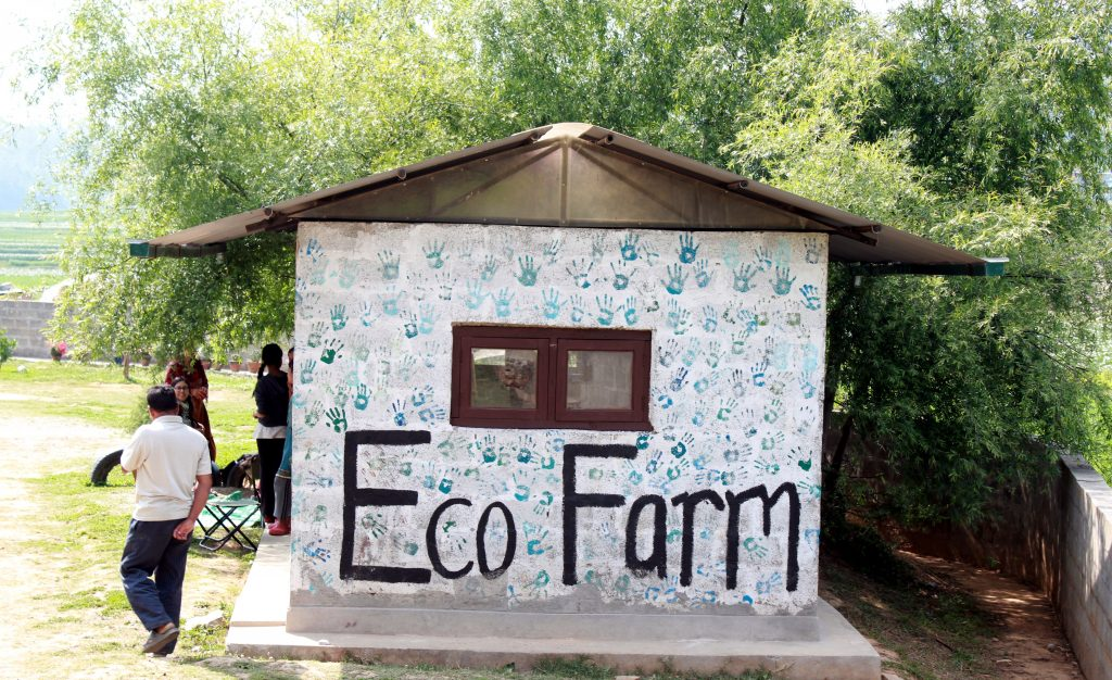 Eco farm orphanage of mission himalaya