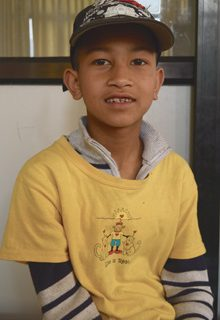 Aashish Raut Orphan Kid of Mission Himalaya