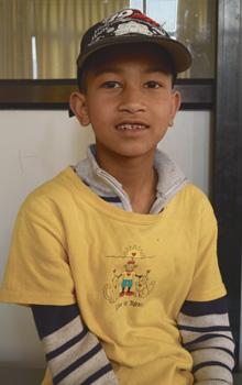 Aashish Raut Orphan Kid of Mission Himalaya