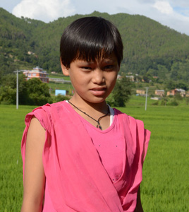 Bimala Tamang Orphan Kids of Mission Himalaya
