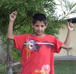 Bishal Dhungana Orphan Kids of Mission Himalaya